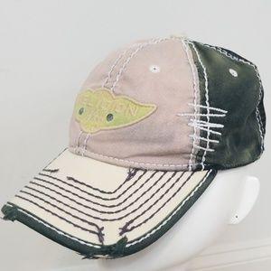 True Religion Distressed Mesh Trucker Hat Blush